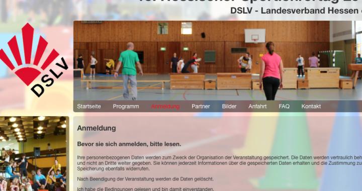 Sportlehrertag Hessen am 03.09.2014