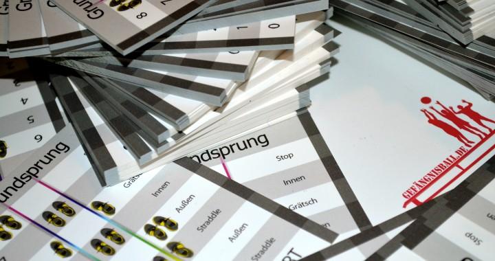 Frisch vom Druck – Gummitwist Grundsprungkarten