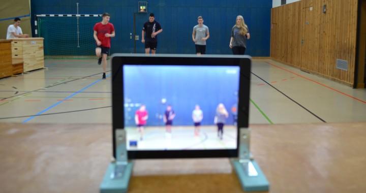 Tableteinsatz im Sportunterricht