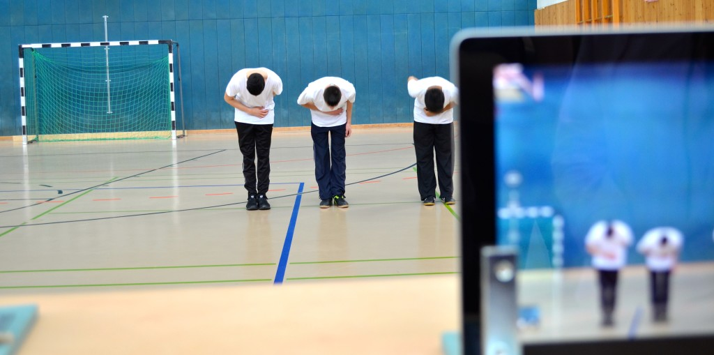 Tableteinsatz im Sportunterricht Prüfungsmedium