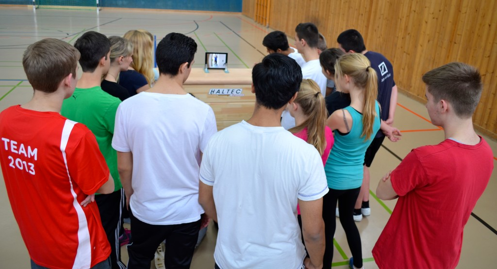 Tableteinsatz im Sportunterricht als Visualisierung