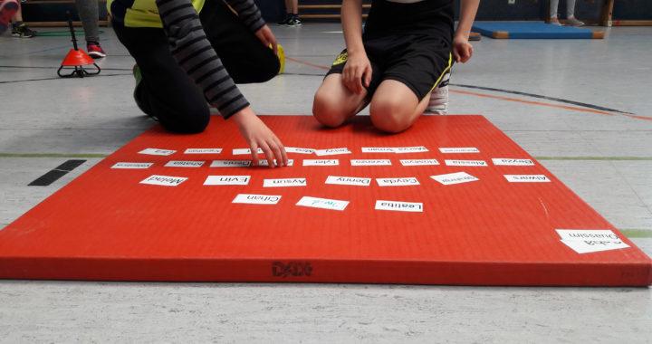 Sportunterricht Pyramidenspiel Wimasu