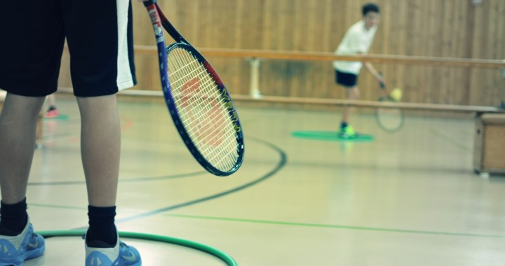 Mini-Tennis im Sportunterricht