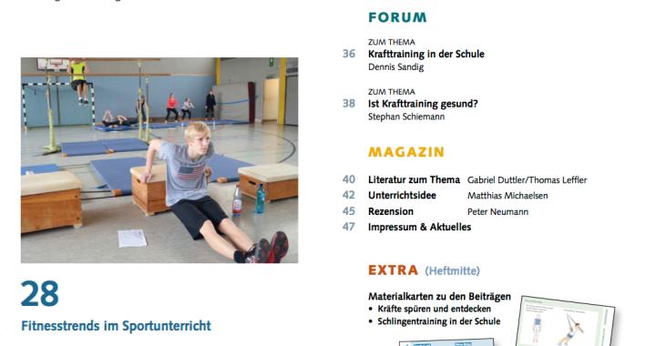 Fitness im Sportunterricht
