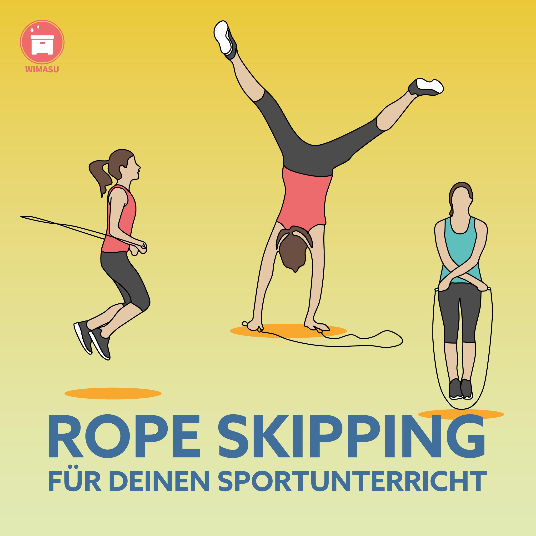 Rope Skipping Sportunterricht Wimasu Stationskarten