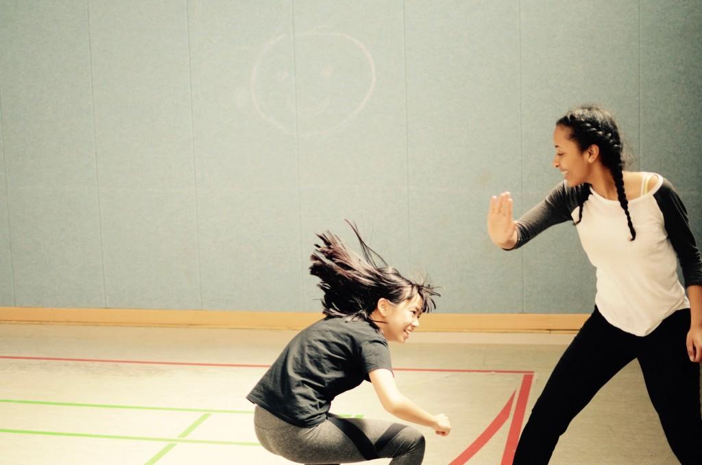 Kämpfen im Sportunterricht