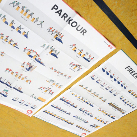 Wimasu Parkour Poster