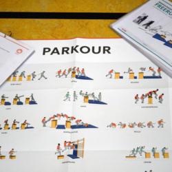 Wimasu Parkour Karten und Poster
