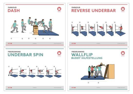 Wimasu Bewegungskarten Freerunning Parkour