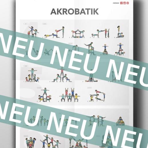 Akrobatik Poster Wimasu back