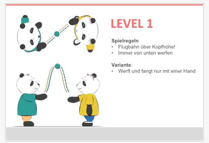 Level 1 Jonglieren