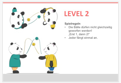 Level 2 Jonglieren