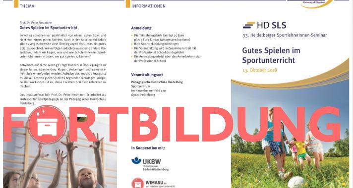 Heidelberger SportlehrerInnen Seminar 2018