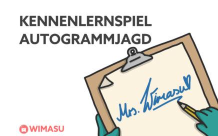 Autogrammjagd Wimasu