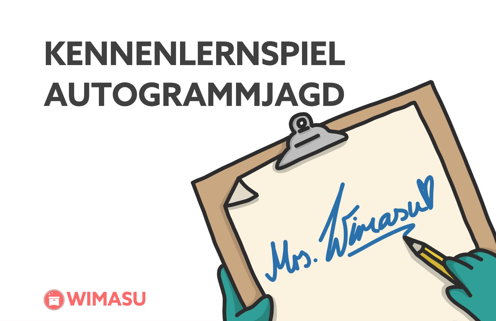 Autogrammjagd