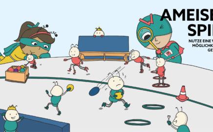 Kleine Spiele Spielhighlight Ameisenspiel Wimasu