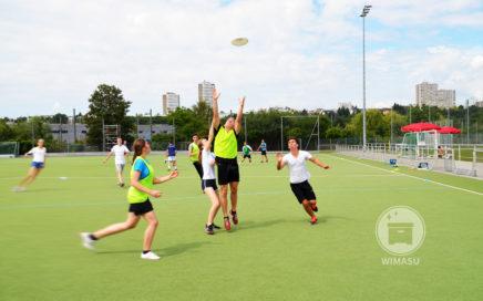 Fairness beim Frisbee besonders gefordert