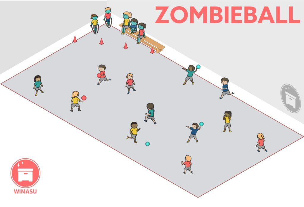 Aufbauplan Zombieball