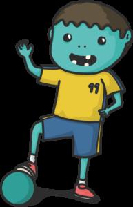 Der Zombieballfußballer by wimasu