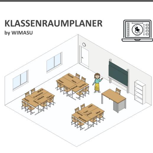 Sitzplan Schule Wimasu