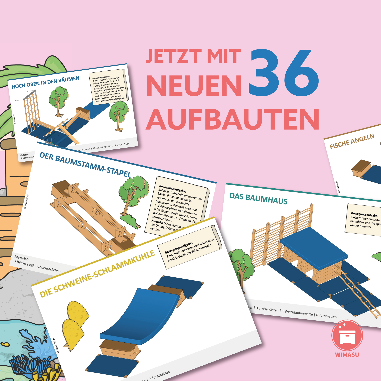 kinderturnen aufbau stationskarten wimasu grundschule1