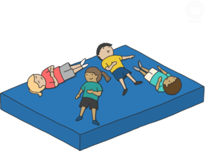 Sportunterricht Mattenspiele Wimasu 18