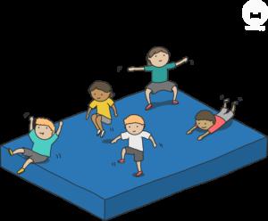 Sportunterricht Mattenspiele Wimasu 5