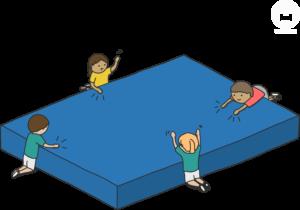 Sportunterricht Mattenspiele Wimasu Entspannung_Anspannung