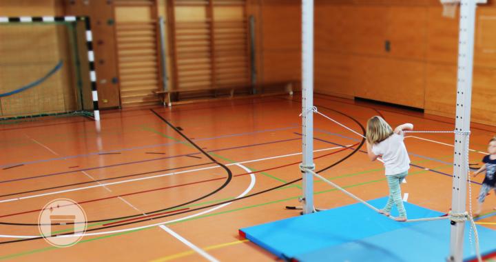 Die Gleichgewichtsfähigkeit für den Sportunterricht analysiert