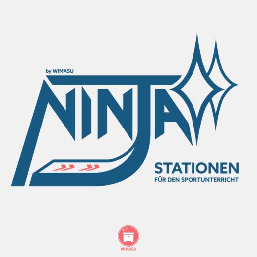 Ninja Warrior Stationen 30 Stationskarten Sportunterricht