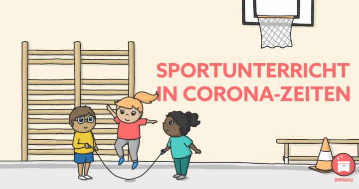 Sportunterricht auf Abstand, Distanzlernen in Corona-Zeit