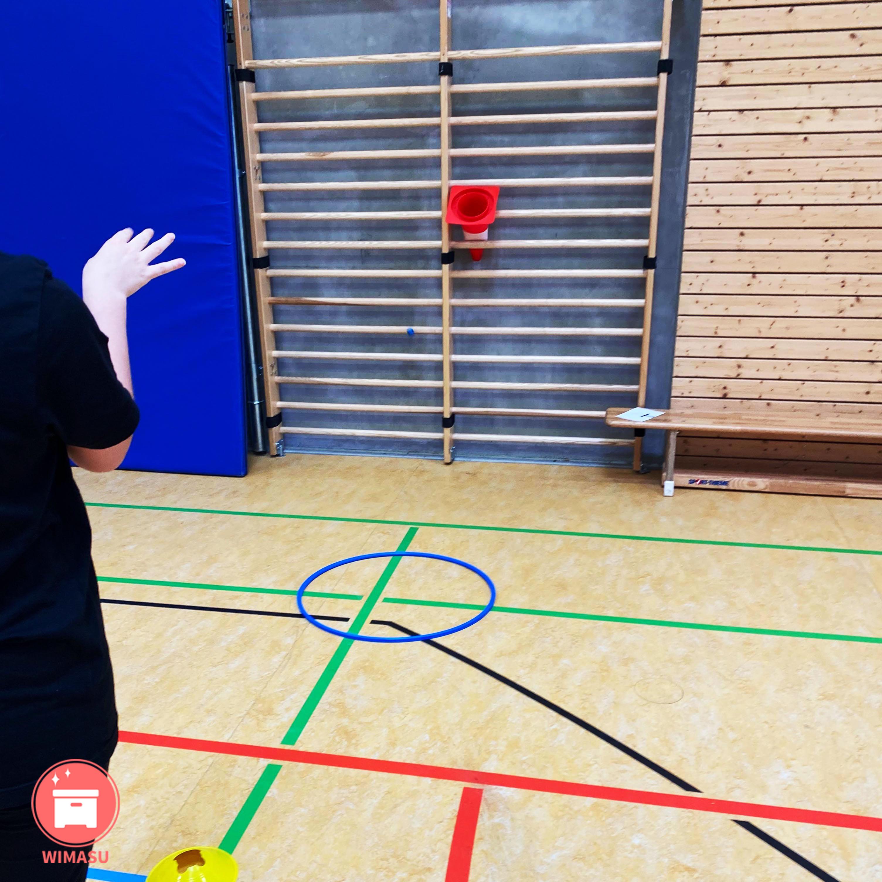 Flummis im Sportunterricht Stationskarten Wimasu 5