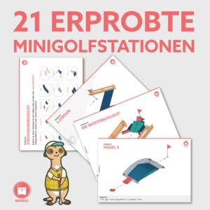 Minigolf im Sportunterricht Grundschule Stationen Wimasu 10