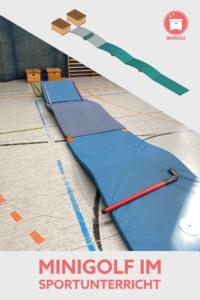 Minigolf im Sportunterricht Grundschule Stationen Wimasu 13