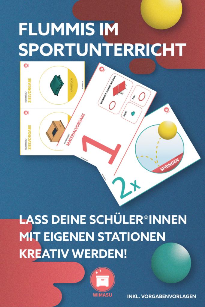 Flummis im Sportunterricht Stationskarten Wimasu 16