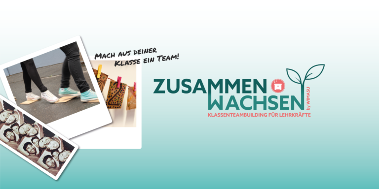 ZusammenWachsen Klassenteambuilding Kooperationsspiele Erlebnispädagogik WIMASU_Banner