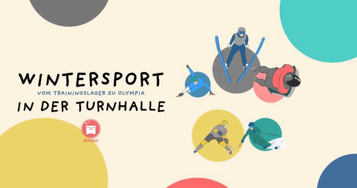 Schulsport - Stationskarten zum Wintersport in der Turnhalle für die Sekundarstufe I und die Grundschule - Titel