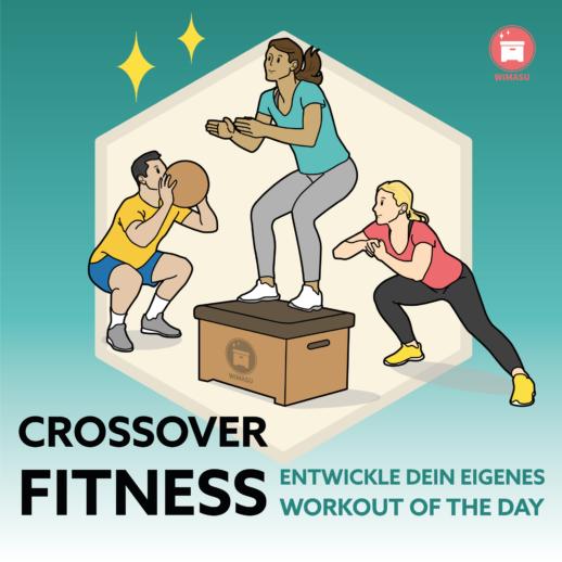 Crossover-Fitness-im-Sportunterricht Sekundarstufe 1 und 2