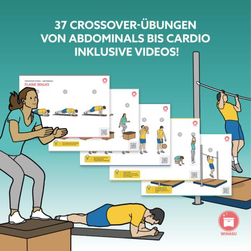 Fitnessübungen für die Schule Crossover Fitness