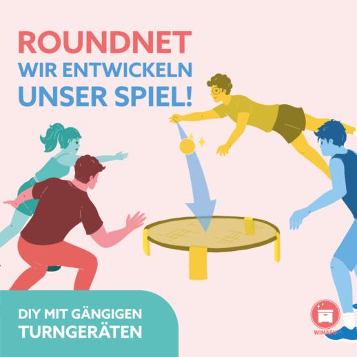 Roundnet, Spikeball, Smashball es ist ein Trend und wir haben Material für den Sportunterricht der Sekundarstufe I und II